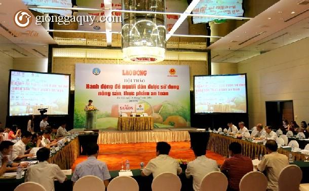 Hành động để người dân được sử dụng nông sản, thực phẩm an toàn
